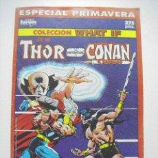 Comics: COLECCIÓN WHAT IF? ESPECIAL PRIMAVERA - ED. FORUM. Lote 176664964