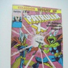 Comics: COLECCIÓN WHAT IF? RETAPADO Nº 16 AL 20 - ED. FORUM. Lote 176665440