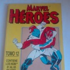 Cómics: MARVEL HEROES TOMO 12 - 61-62-63-64-65 # LL. Lote 176674382