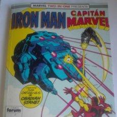 Comics: IRON MAN / CAPITAN MARVEL PRIMERA EDICIÓN 44-45-46# LL. Lote 176677608