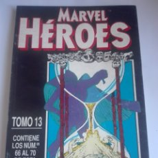 Cómics: MARVEL HÉROES TOMO 13 PRIMERA EDICIÓN 66-67-68-69-70 DIFICILÍSIMO# LL. Lote 176678215