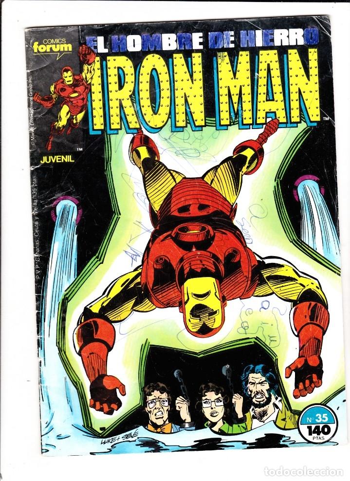 IRON MAN. Nº 35. FORUM. (Tebeos y Comics - Forum - Iron Man)