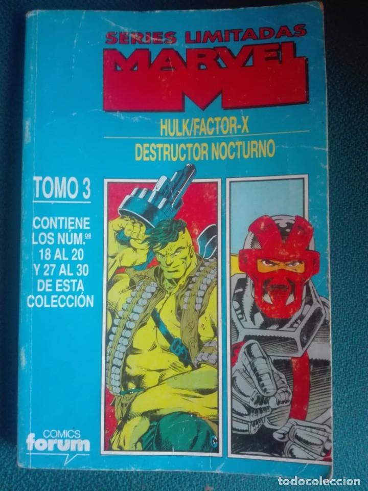 SERIES LIMITADAS MARVEL TOMO 3 - 18-19-20-27-28-29-30# LL (Tebeos y Comics - Forum - Prestiges y Tomos)