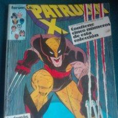 Cómics: PATRULLA X PRIMERA EDICIÓN 57-58-59-60-61 # LL. Lote 176754974