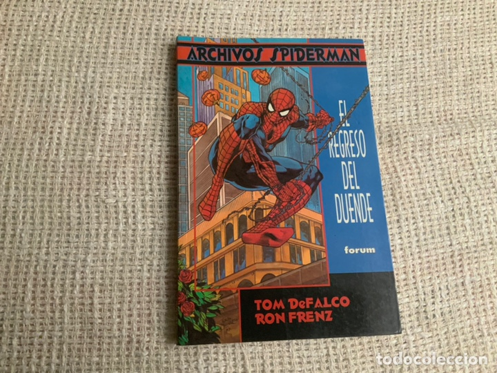 ARCHIVOS SPIDERMAN , EL REGRESO DEL DUENDE / TOM DEFALCO & RON FRENZ (Tebeos y Comics - Forum - Prestiges y Tomos)