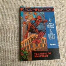 Cómics: ARCHIVOS SPIDERMAN , EL REGRESO DEL DUENDE / TOM DEFALCO & RON FRENZ. Lote 46838569