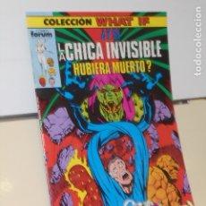 Cómics: COLECCION WHAT IF Nº 5 LOS 4 FANTASTICOS, ¿Y SI LA CHICA INVISIBLE HUBIERA MUERTO? - FORUM. Lote 176855700