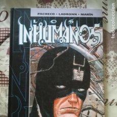 Cómics: INHUMANOS PACHECO,TAPAS DURAS. Lote 176857183