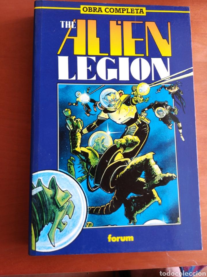 THE ALIEN LEGIÓN - OBRA COMPLETA ( FORUM) (Tebeos y Comics - Forum - Retapados)