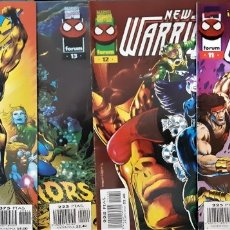 Cómics: LOTE 4 COMICS NEW WARRIORS NOS. DEL 11 AL 14 (ULTIMO) DE MARVEL - FORUM (GRAPA) . Lote 176947264