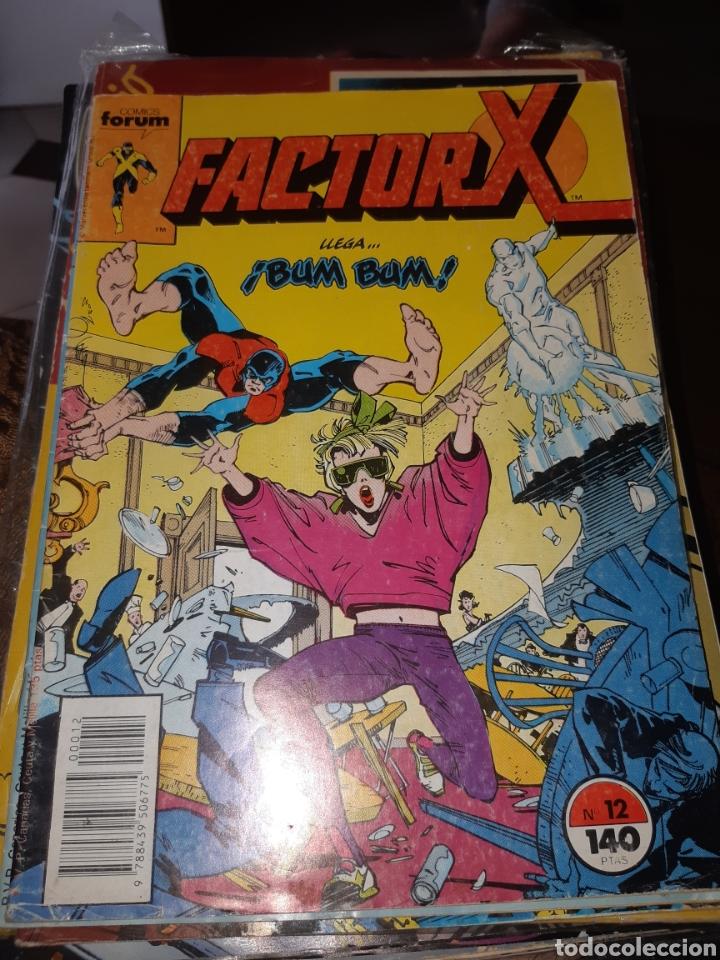 TEBEOS-CÓMICS CANDY - FACTOR X 12 - FORUM - AA99 (Tebeos y Comics - Forum - Factor X)