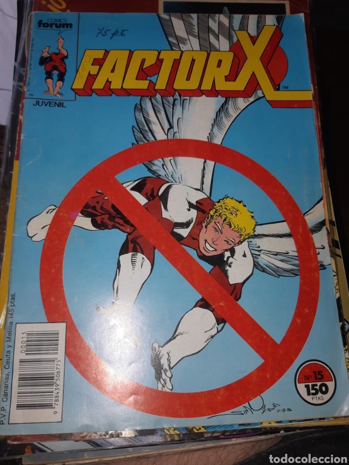 TEBEOS-CÓMICS CANDY - FACTOR X 15 - FORUM - AA98 (Tebeos y Comics - Forum - Factor X)