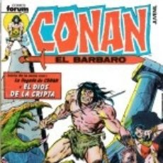 Cómics: CONAN EL BARBARO VOL. 1 COMPLETA 1 A 213 - FORUM - BUEN ESTADO. Lote 177058903