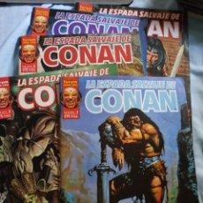 Comics: ESPADA SALVAJE CONAN VOL. 2. LOTE 6 NÚMEROS. Lote 177066860