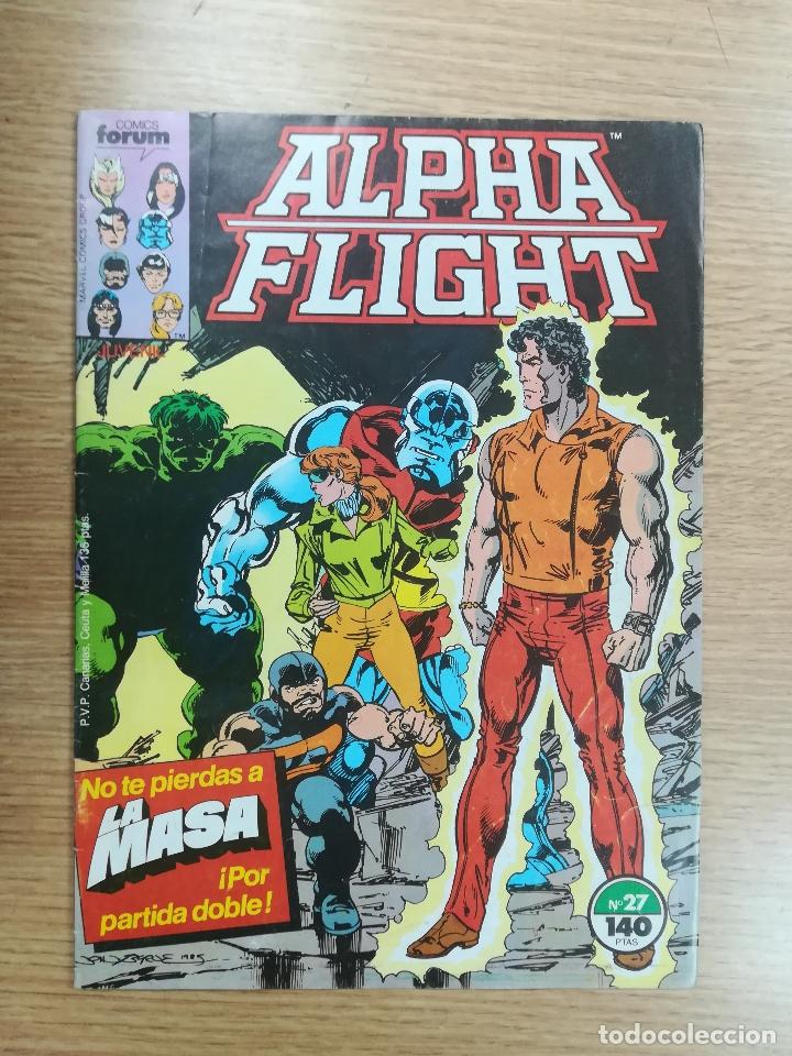 ALPHA FLIGHT VOL 1 #27 (Tebeos y Comics - Forum - Alpha Flight)