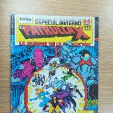 Comics: PATRULLA X VOL 1 ESPECIAL INVIERNO 1988. Lote 177084999