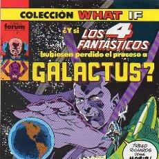 Cómics: WHAT IF? VOL.1 Nº 23 - FORUM. Lote 177087928