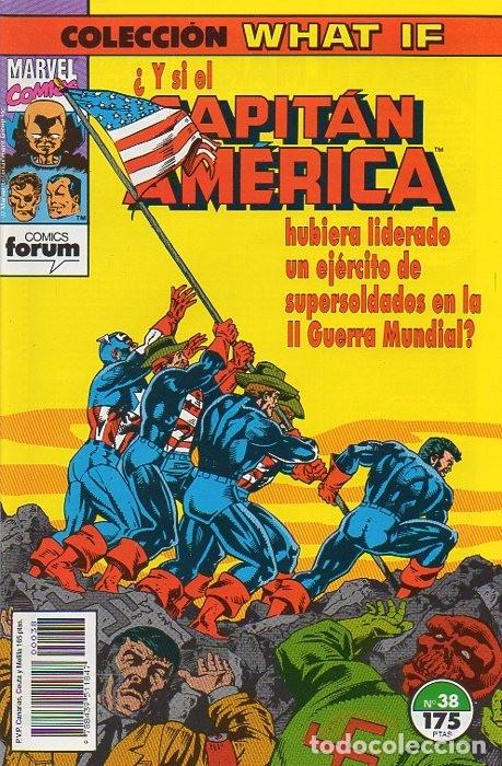 WHAT IF? VOL.1 Nº 38 - FORUM (Tebeos y Comics - Forum - Capitán América)