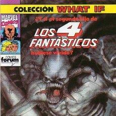 Cómics: WHAT IF? VOL.1 Nº 40 - FORUM. Lote 177088299