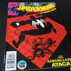 Cómics: EXCELENTE ESTADO ESTADO SPIDERMAN 187 FORUM. Lote 177130483