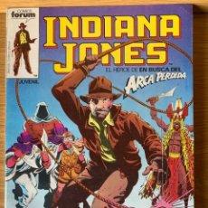 Comics: INDIANA JONES - EN BUSCA DEL ARCA PERDIDA - TOMO Nº 1 RETAPADO - CONTIENE LOS NUMEROS DEL 1 AL 5. Lote 177140415