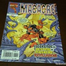 Cómics: MASACRE 22 MUY BUEN ESTADO. Lote 177187082