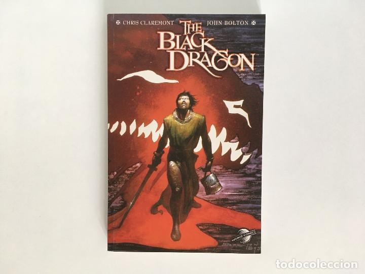 THE BLACK DRAGON DE CHRIS CLAREMONT Y JOHN BOLTON. WORLD COMICS. (Tebeos y Comics - Forum - Prestiges y Tomos)
