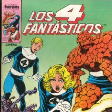 Comics : LOS 4 FANTÁSTICOS VOLUMEN 1 NÚMERO 39 CÓMICS FÓRUM MARVEL. Lote 177369189