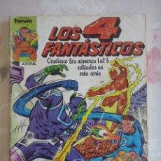 Cómics: FORUM - 4 FANTASTICOS VOL.1 RETAPADO CON LOS NUM. 1 AL 5 ( NUM. 1-2-3-4-5 ). MUY DIFICIL. Lote 177372148