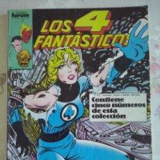 Cómics: FORUM - 4 FANTASTICOS VOL.1 RETAPADO CON LOS NUM.26 AL 30 .BUEN ESTADO . DIFICIL. Lote 177372449