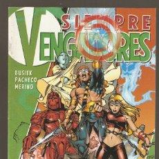 Cómics: SIEMPRE VENGADORES VOL.1 - Nº 4 DE 12 - DICIEMBRE 1999 - FORUM - 1994 -. Lote 177393332