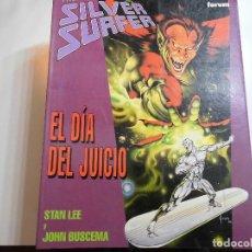 Cómics: SILVER SURFER EL DIA DEL JUICIO FORUM. Lote 177414613