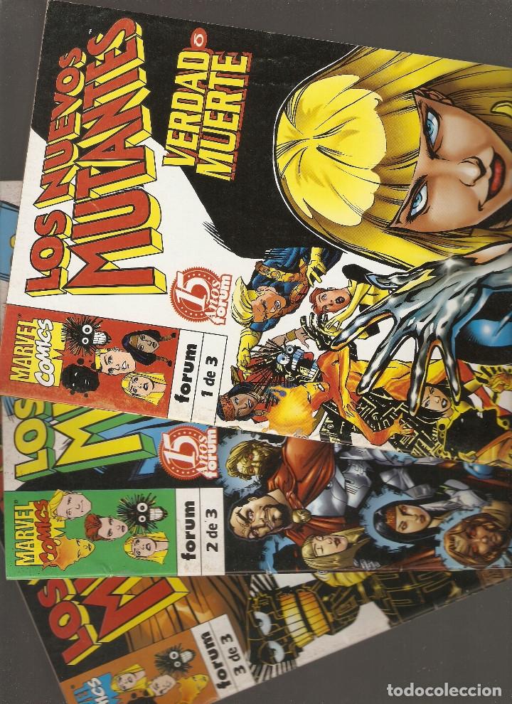LOS NUEVOS MUTANTES - VERDAD O MUERTE COMPLETA Nº 1 - 2 Y 3 - FORUM - 2 - (Tebeos y Comics - Forum - Nuevos Mutantes)