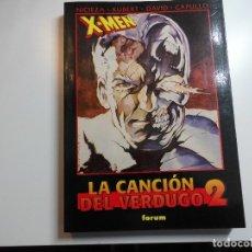 Cómics: X MEN LA CANCION DEL VERDUGO 2 FORUM. Lote 177421873