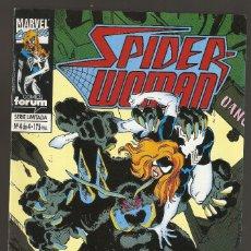 Cómics: SPIDER-WOMAN VOL.1 - Nº 4 DE 4 - BATALLA FINAL CONTRA TELARAÑA MORTAL - DICIEMBRE 1994 - FORUM -. Lote 177421882