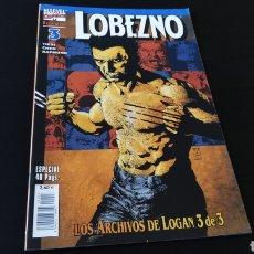 Cómics: DE KIOSCO LOBEZNO 3 LOS ARCHIVOS DE LOGAN 3 VOL III FORUM. Lote 177456773