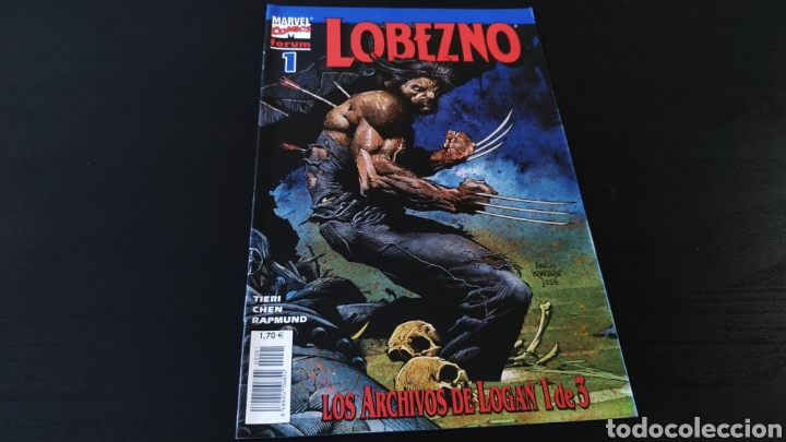 DE KIOSCO LOBEZNO 1 LOS ARCHIVOS DE LOGAN 1 VOL III FORUM (Tebeos y Comics - Forum - Otros Forum)