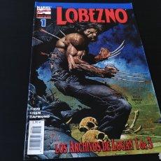 Cómics: DE KIOSCO LOBEZNO 1 LOS ARCHIVOS DE LOGAN 1 VOL III FORUM. Lote 177457033
