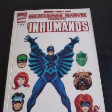 Cómics: PACK COMICS MARVEL LOS INHUMANOS 3 TOMOS: SELECCIONES MARVEL, MARVEL KINGHTS E INHUMANOS DE PACHECO. Lote 177490985