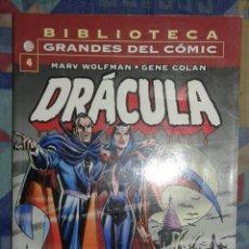 Cómics: BIBLIOTECA GRANDES DEL COMIC: DRACULA N 4: FORUM. Lote 177529343