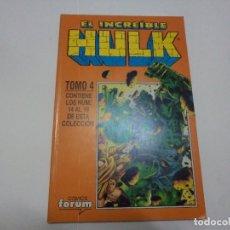 Cómics: HULK 14 AL 19. RETAPADO. FORUM. Lote 177554982