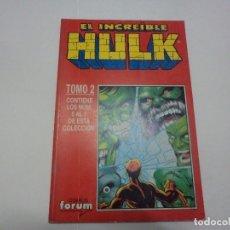 Cómics: HULK 5 AL 7. RETAPADO. FORUM. Lote 177555250