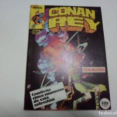 Cómics: CONAN REY 26 AL 30. RETAPADO. FORUM. Lote 177568075