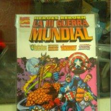 Cómics: HEROES REBORN LA III GUERRA MUNDIAL MARVEL FORUM. Lote 177585338