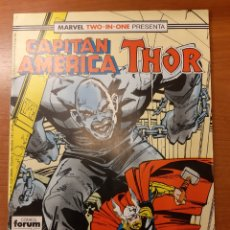 Cómics: CAPITÁN AMÉRICA THOR MARVEL TWO IN ONE 58. Lote 177590937