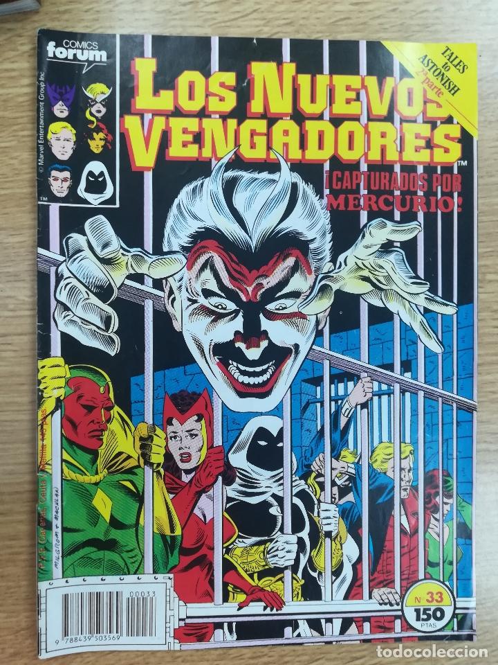 NUEVOS VENGADORES #33 (Tebeos y Comics - Forum - Vengadores)