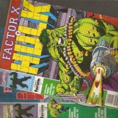 Cómics: FACTOR X Y HULK - Nº 1 - 2 Y 3 COMPLETA - SERIES LIMITADAS VOL.1 Nº 18 - 19 Y 20 - 1992 - FORUM -. Lote 177703679