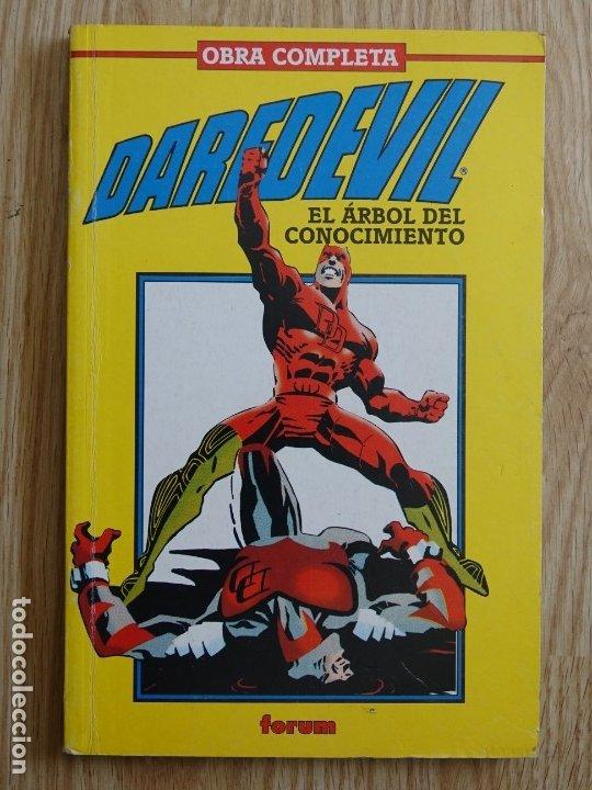 DAREDEVIL - EL ÁRBOL DEL CONOCIMIENTO - OBRA COMPLETA FORUM SCOTT MC. DANIEL MCDANIEL SERGIO CARELLO (Tebeos y Comics - Forum - Daredevil)