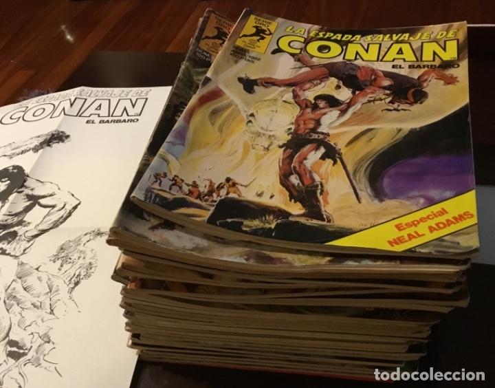 Cómics: Lote Conan la espada salvaje 1ºedicion 35 comics mas poster con el numero 1 - Foto 2 - 177760872