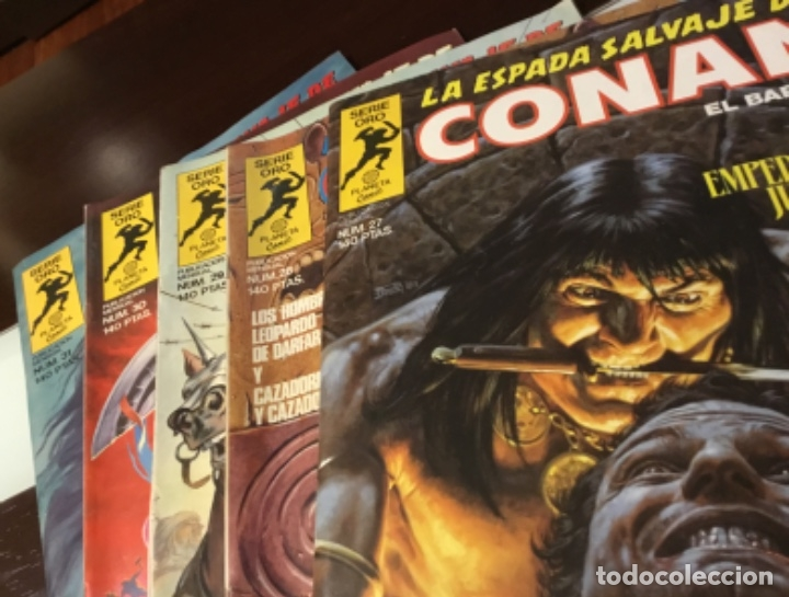 Cómics: Lote Conan la espada salvaje 1ºedicion 35 comics mas poster con el numero 1 - Foto 4 - 177760872